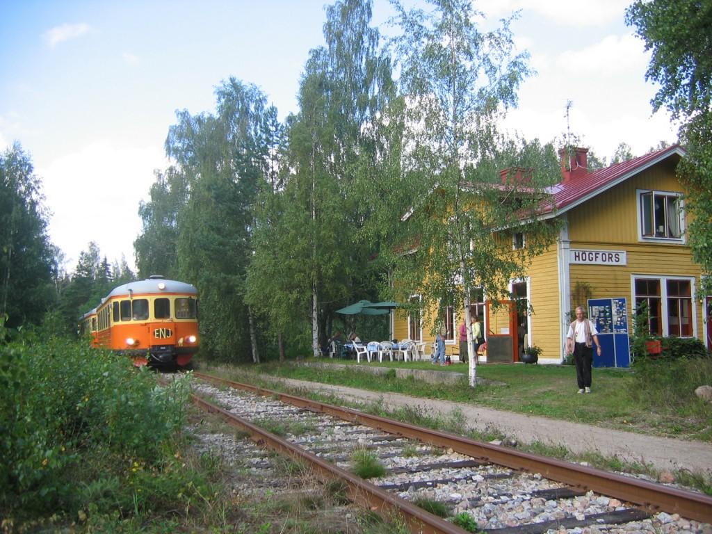 Högfors station