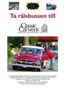 Affisch Classic Car 2014 kopiera