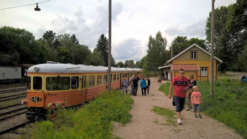Kärrgruvans station 2016-08-21